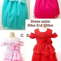 Baju Dress Anak Perempuan - Dress Ulang Tahun Anak Cewek
