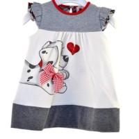 Baju Dress Anak Perempuan Untuk Usia 1T Sampai 4T Motif Lucu