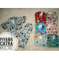 Grosir Piyama Katun Catra Baju Tidur Anak Laki Perempuan Murah Grosir