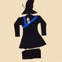 Baju Renang Anak Muslimah Sd 6-10 Tahun Perempuan Muslim Polos