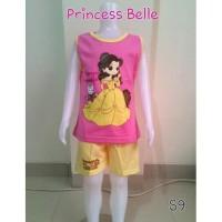 Setelan Baju Anak Perempuan Princess Belle (S9)