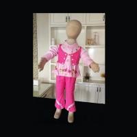 Pajama Piyama Bayi Anak Perempuan Semi Rompi Import Zh-Pfa001