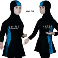 Baju Renang Anak 1 2 3 Tahun Perempuan Cewek Sulbi Sbap Motif Series