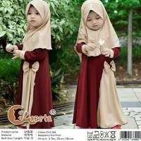Dress Livo&Bergo - Dress Muslim Anak Perempuan - Gamis Anak Terbaru -