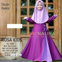 Gamis Anak Baju Muslimah Anak Murah Best Seller Terbaru Kekinian Dress