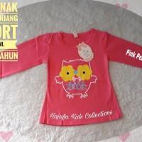 Baju Anak Perempuan Kaos Baby Owl Murah