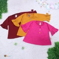 Blouse Gisell Uk 5 Tahun - Baju Anak Perempuan Kaos Anak Balita Murah