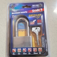 Gembok American Secure 60mm Panjang (Long)