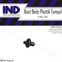 Baut Kancing-Klip Plastik Rivet Body Bentuk Orisinil-Ori NMax/R15