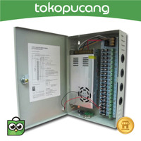 POWER SUPPLY 30A BOX POWER SUPLY CCTV 12V 30A AC TO DC 30 AMPERE