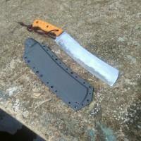 pisau golok chopper standar kompetisi mikarta baja sanmai