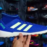 Sepatu futsal Adidas predator 18.3 tango blue
