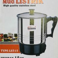 Electric Heating Cup 15cm / Mug Listrik Gelas Masak / Teko Elektrik