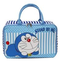 Tas travel bag kanvas renang anak remaja dewasa Doraemon