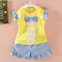 Baju Setelan Anak Import Murah | Fashion Anak Cewek Cute