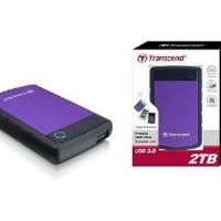 Transcend Storejet 2TB External Harddisk Anti Shock NEW and Byhde555