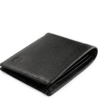 best seller dompet kulit asli pria bracini deon hitam