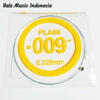 Senar Gitar Plain 009 (nomor 1) satuan/eceran/lusinan/grosir