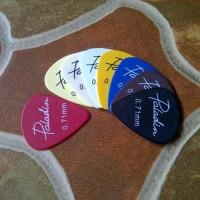 Pik 0.71 Mm Carbon Paladin Pemetik Senar Gitar Elektrik Akustik Klasik