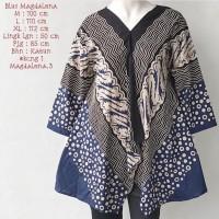 Atasan batik solo blouse madalena cap