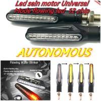 Lampu led sein running led sen motor universal led flowing