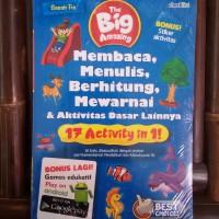 Buku Anak: The Big Amazing Membaca, Menulis, Berhitung, Mewarnai