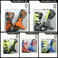 sepatu boots snd balap motor cross not alpinestar gordons fox oneal