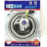 Regulator Selang Paket Kompor Gas Caisar 1,8 m / Regulator paket SNI