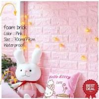 Foam 3D Motif Bata Pink Baby