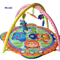 Baby Fairyland Playmatt animal round shape PB102/play gym baby gift