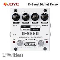 Joyo D Seed Efek Gitar Digital Delay Dual Channel Original