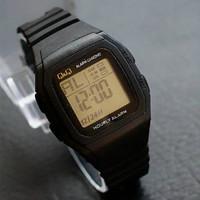 Jam Tangan Pria Wanita Unisex Model Casio QnQ QQ Q&Q Kotak Digital Ter