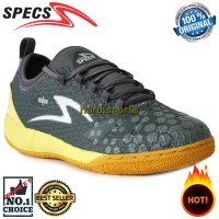 Sepatu Futsal Specs Metasala Knight IN 400733 - Dark Grey ORIGINAL