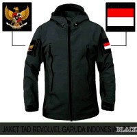 JAKET TACTICAL TAD BLACK GARUDA INDONESIA
