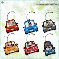 CUSTOM PRINT PARFUM / Pengharum Mobil Catalog Car Photo Frame