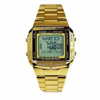 CASIO DB360 Gold Jam Tangan Unisex Jam Tangan wanita