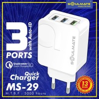 FAST CHARGING QUALCOMM QUICKCHARGE 3.0 BATOK CAS FAST CHARGER HP