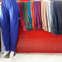 celana aladin panjang /standar dalaman gamis/ celamis / aladin murah - Putih