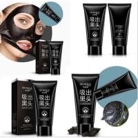 Masker Bioaqua Black Mask Bioaqua Charcoal masker carbon peel off