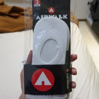 Kaos Kaki Airwalk No Show (Ankle) Socks with Anti-slip Gel 100% ORI