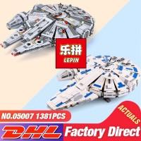 DHL Lepin 05007 05132 Star Toys Wars The 75105 Millennium Falcon Set
