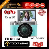 Fujifilm X-A10 / XA10 Kit 16-50mm f/3.5-5.6 OIS II - Green Mint