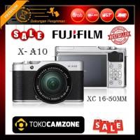 Fujifilm X-A10 / XA10 Kit 16-50mm f/3.5-5.6 OIS II - Silver