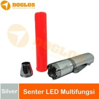 Senter LED Mini multifungsi 3 Mode ST A-56| Zoom in/out|Lalin Police