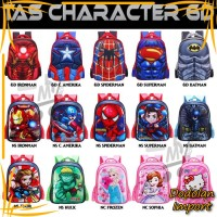 Dodolan Termurah Kado Anak Tas Ransel Anak Sekolah Karakter Superhero