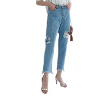 Summer Ripped Mom jeans