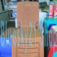 Kursi Sender Plastik Anyaman Rotan Napolly 2R3