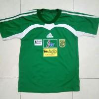 Jersey Persebaya JTV Liga Bank Mandiri 2003 Hijau Retro Lokal