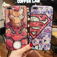 case iPhone X 6 6S 7 8 Plus XS MAX XR 3D Relief Soft TP Berkualitas