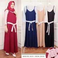 REALPICT-GAMIS DOBBY TALI CD8817-OVERALL SET BABAT GESPER